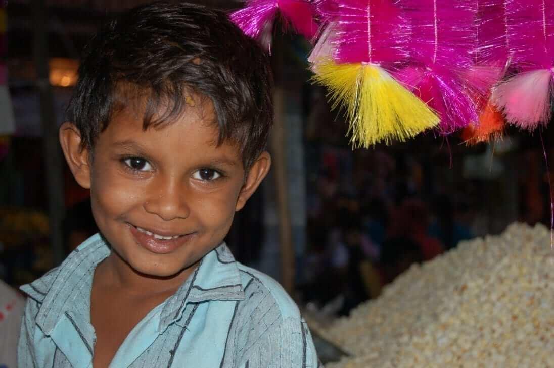 Infancia en el mercado de Jodphur