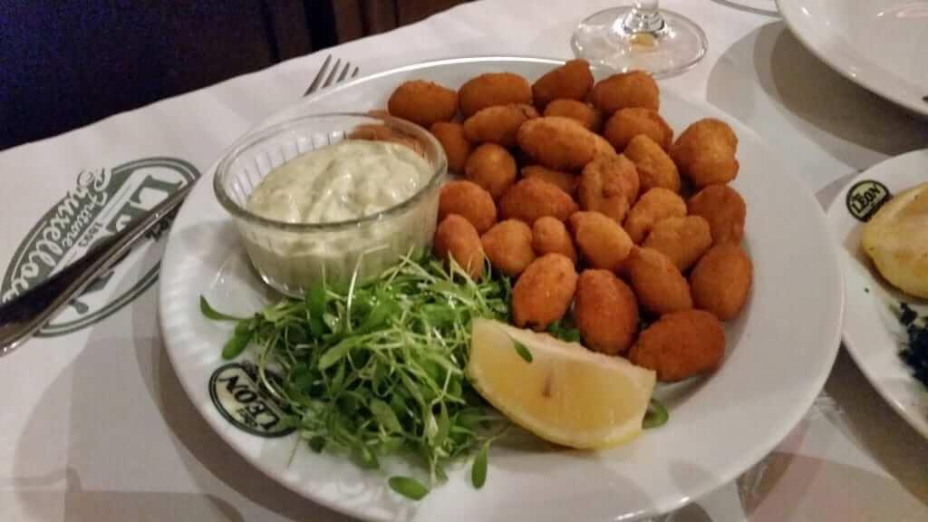 Comer en Bruselas Chez Leon