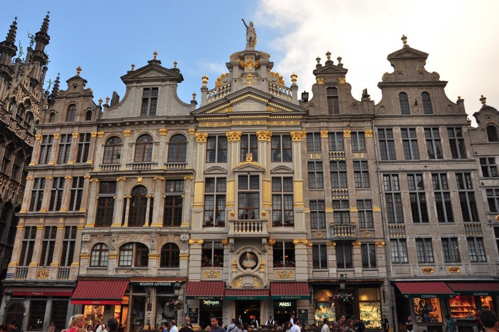 Bruselas con amigas Grand Place
