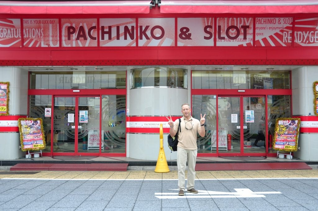 Tokio Sala de Pachinko
