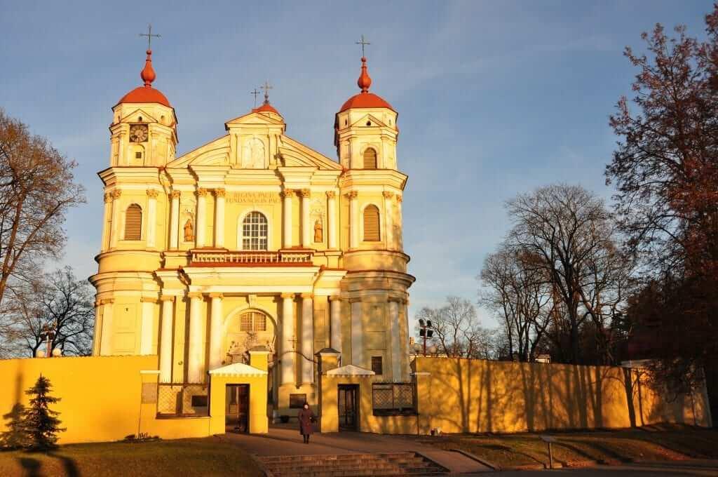 Iglesia de San Pedro y San Pablo Vilnius