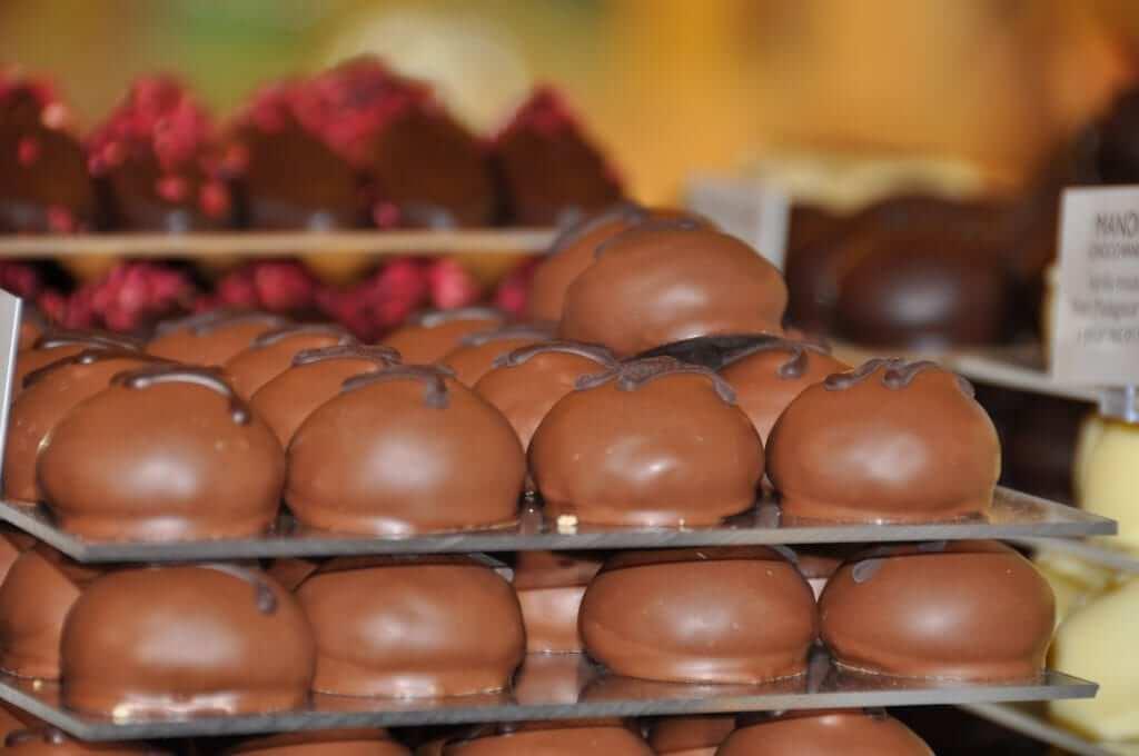 Chocolaterías de Bruselas Neuhaus