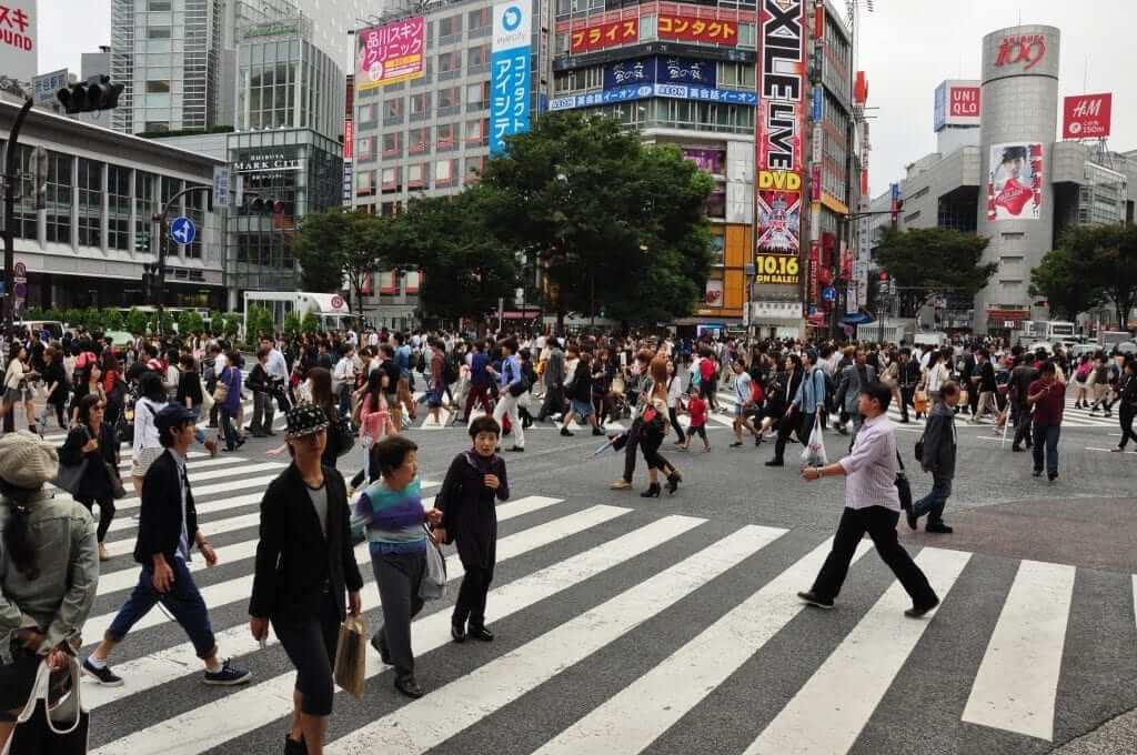 Tokio gratis Cruce de Shibuya
