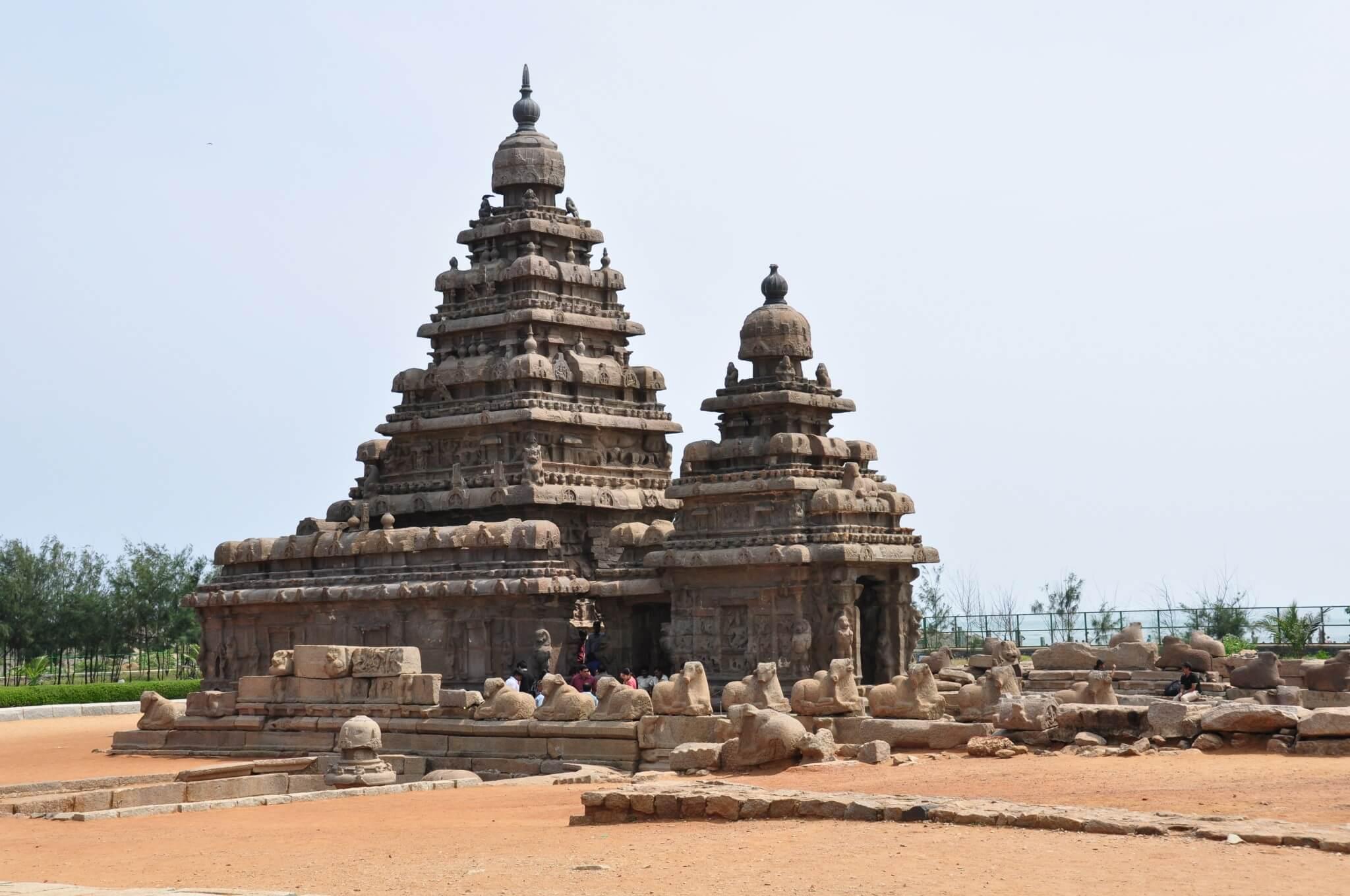 Tamil Nadu Templo de la Orilla Mahaballapuram