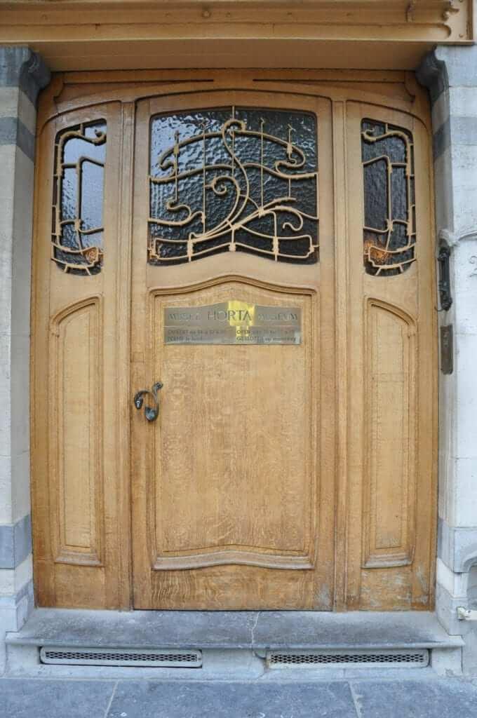 Victor Horta, Puerta del museo