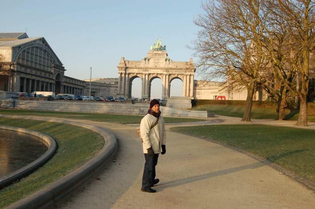 Ciudad alta Parque del Cincuentenario Bruselas