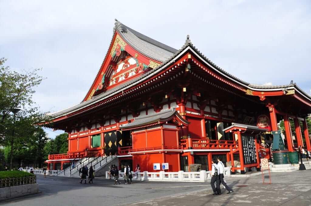Tokio, Templo Senjo-ji