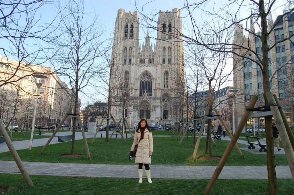 Ciudad alta Catedral de Bruselas