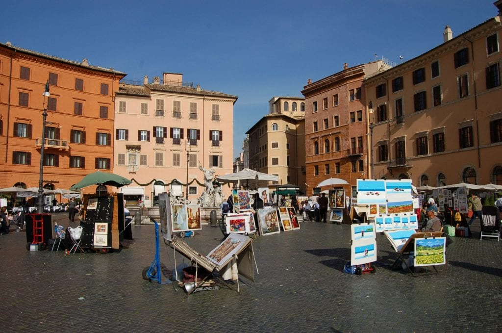 Plazas de Roma, Piazza Navona