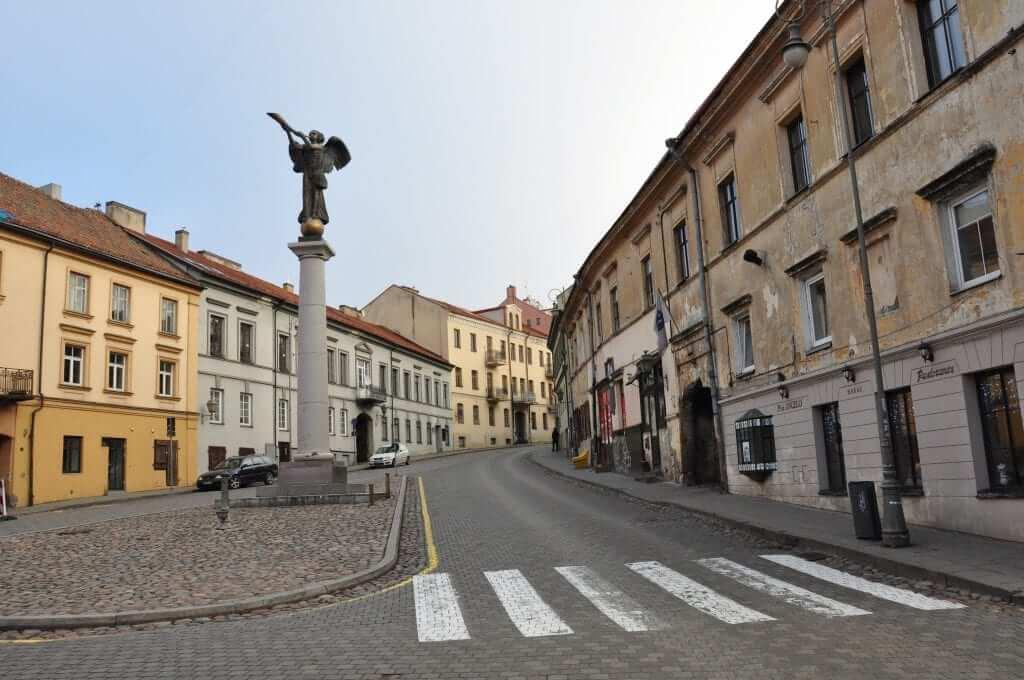 Vilnius Ángel de Uzupis