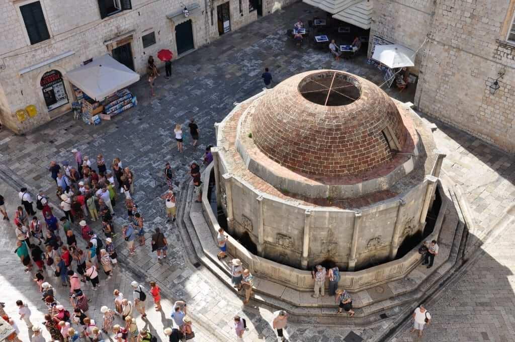 Dubrovnik Fuente de Onofrio