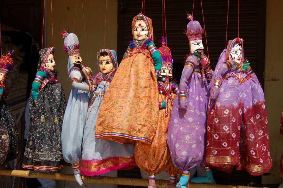 Marionetas indias