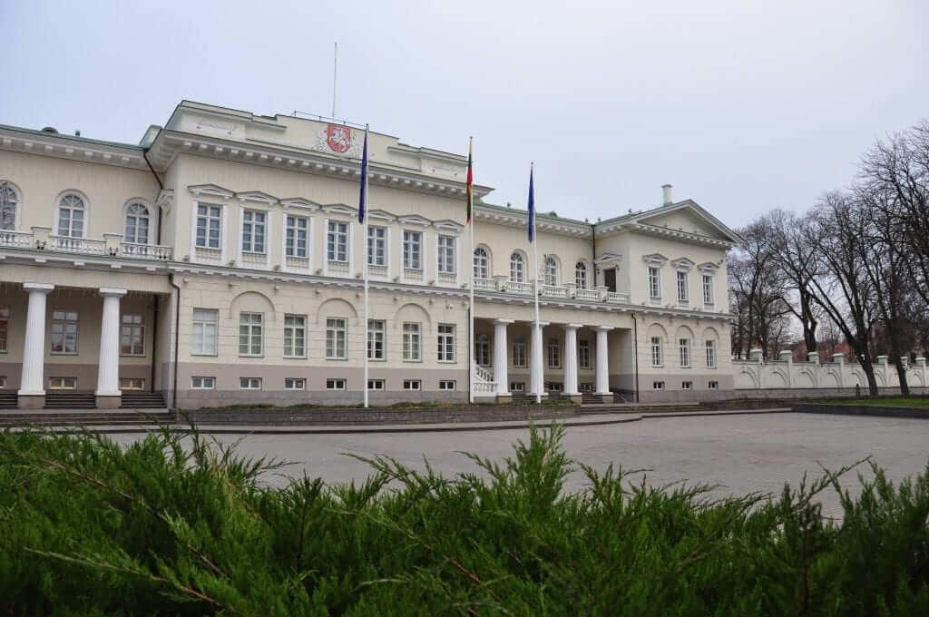 Vilnius Palacio Presidencial