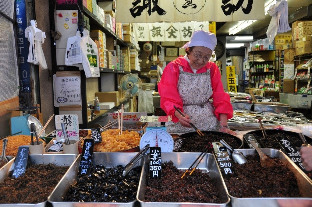 Tokio Gratis Lonja de pescado de Tsukiji