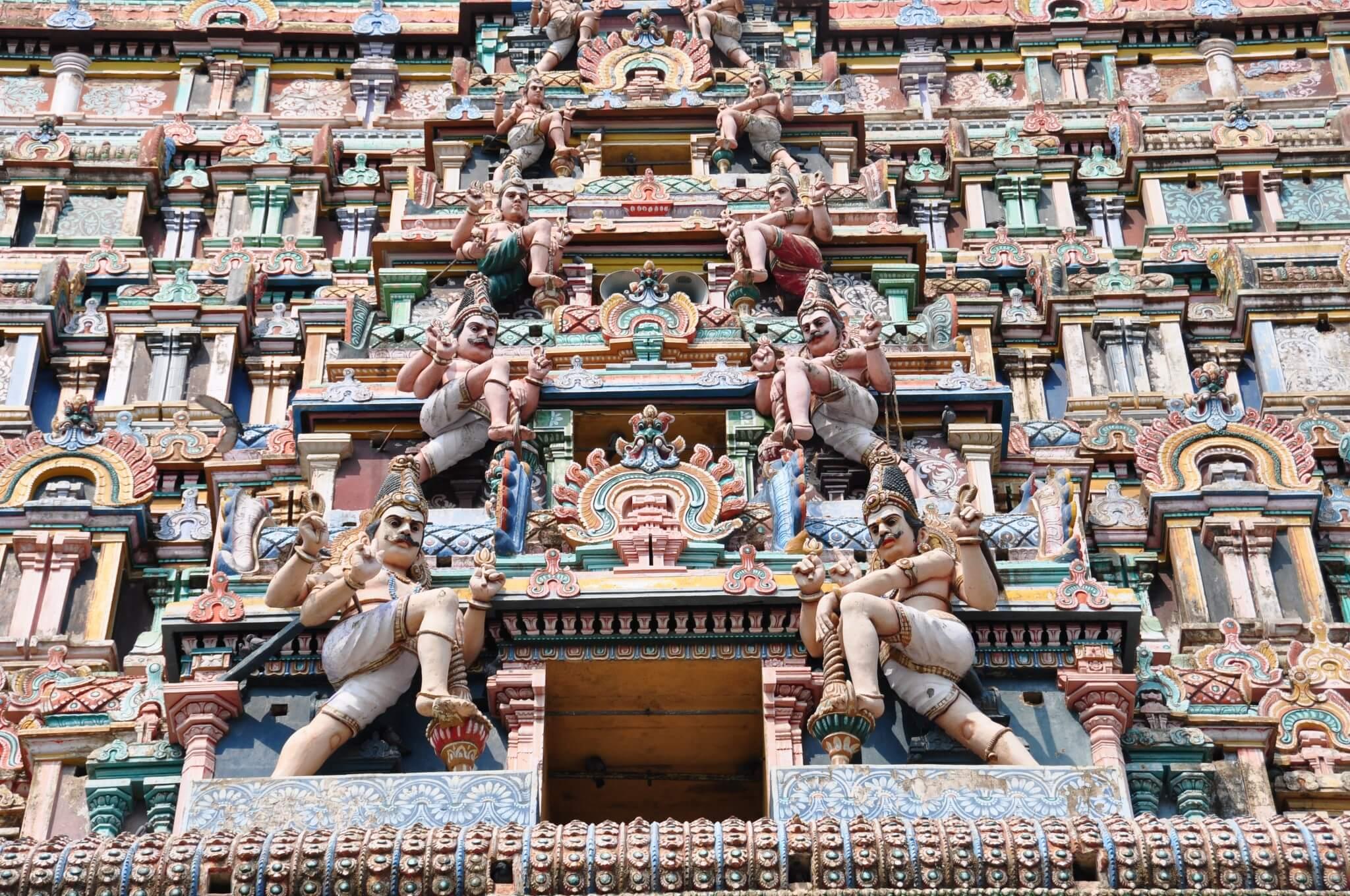 Tamil Nadu Templo de Nataraja Chidambaram