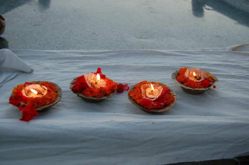 Ofrendas al Ganges
