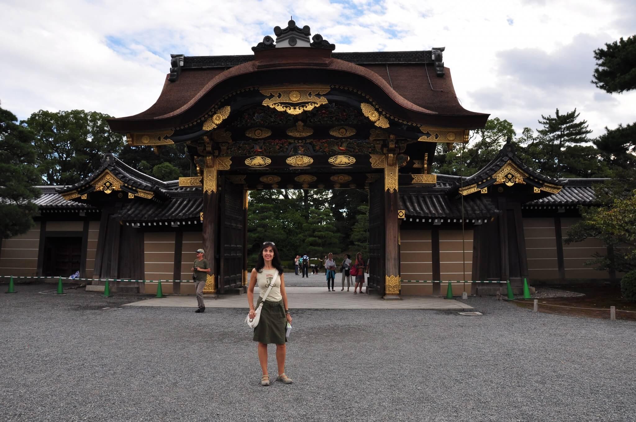 Kioto puerta Karamon