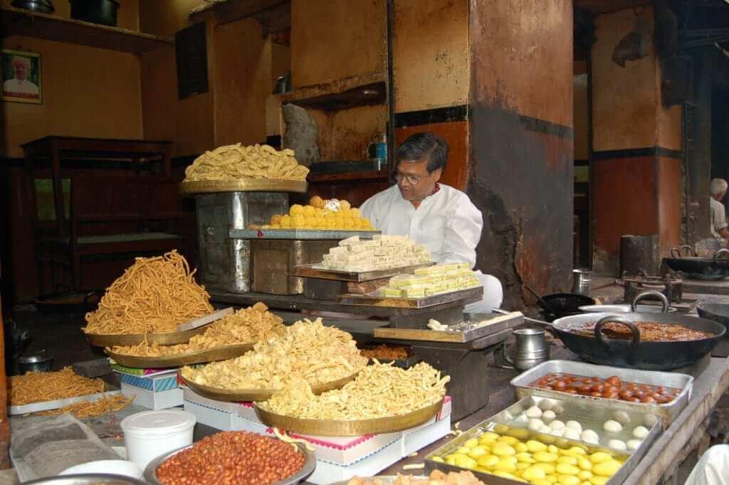 Cosas que no te gustarán en India - La comida