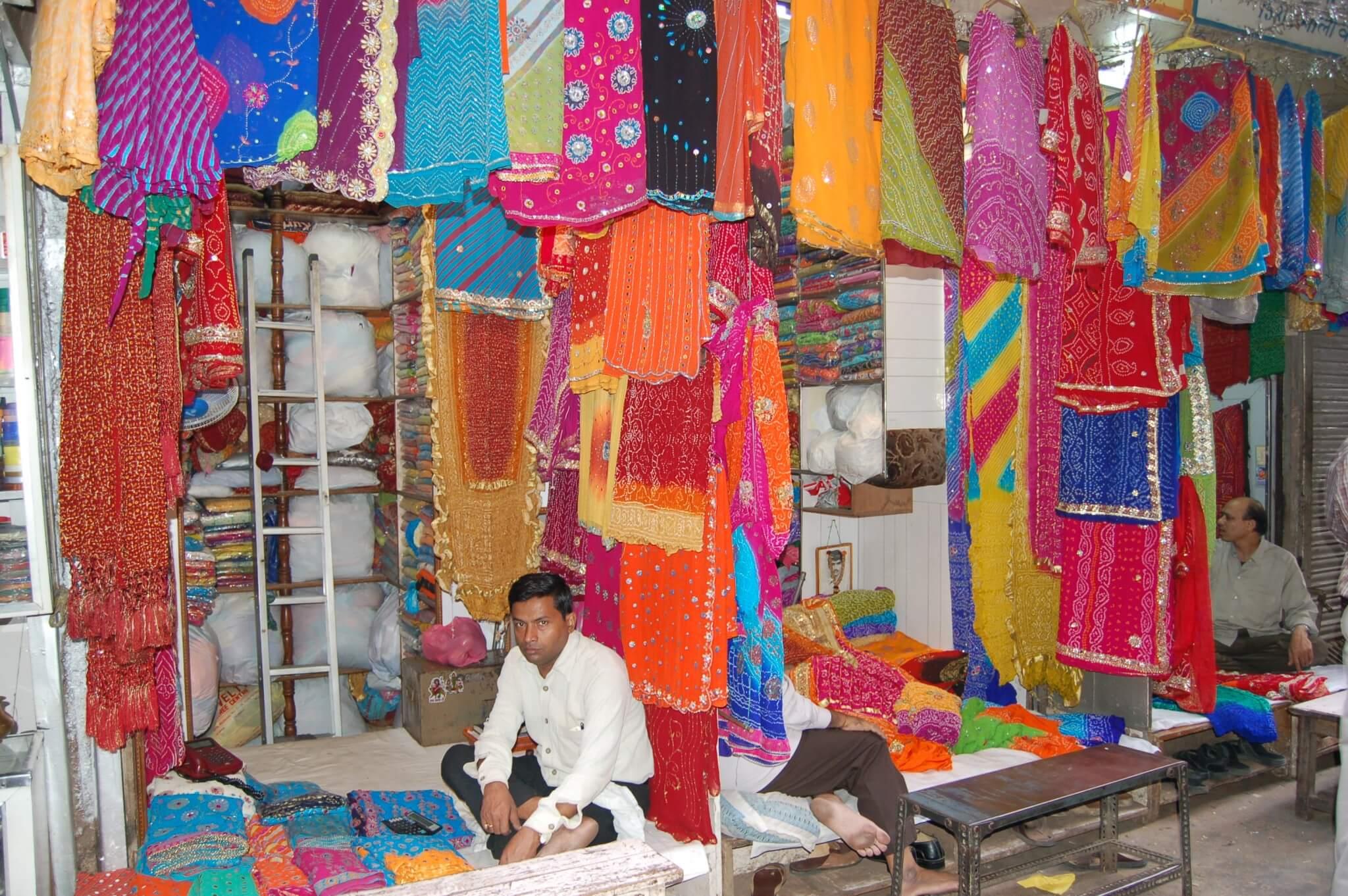Sari Donde comprar un sari, Delhi