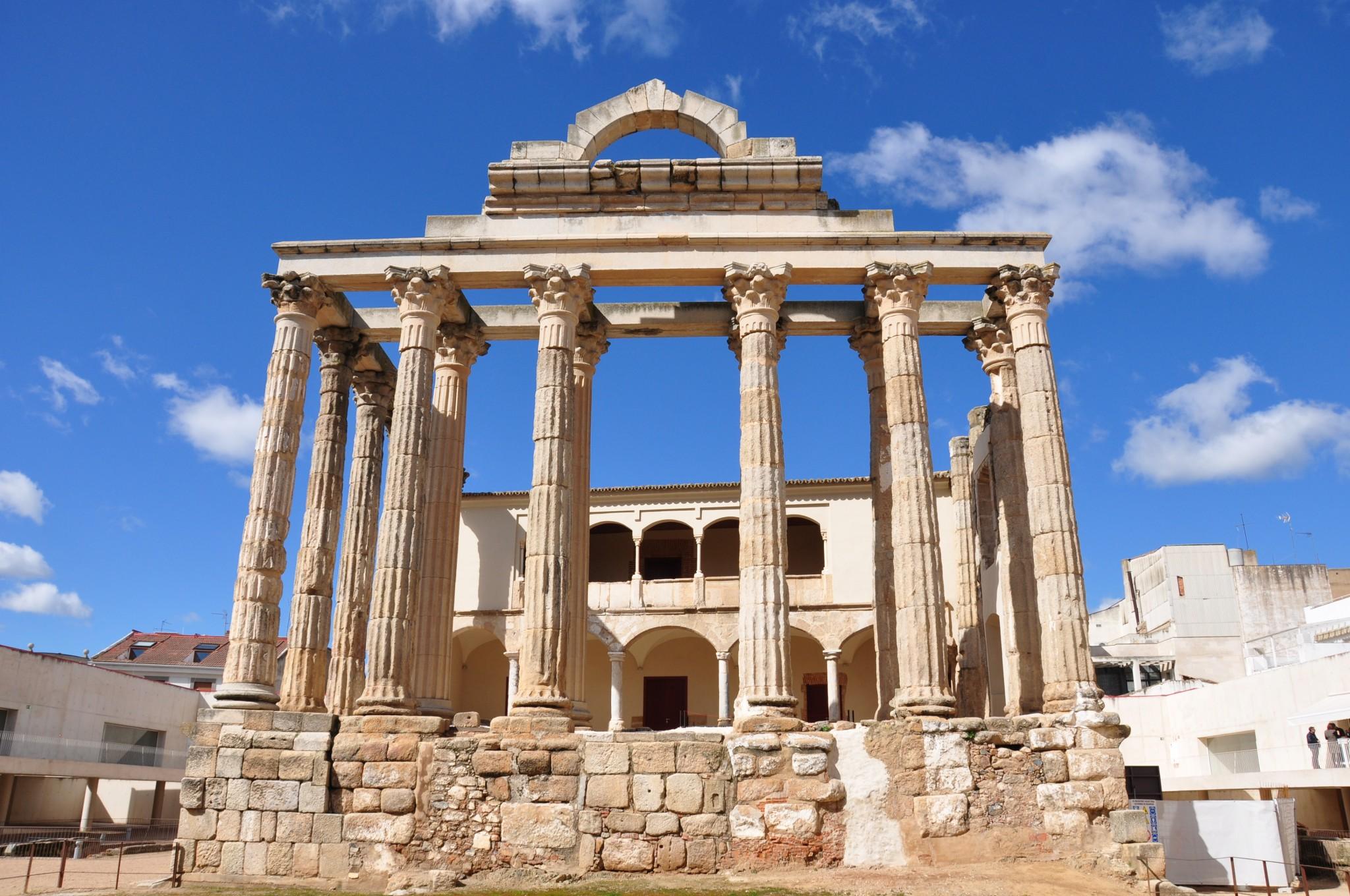 Mérida, Templo de Diana