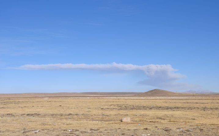 Del Colca a Puno, Volcán Ubinas