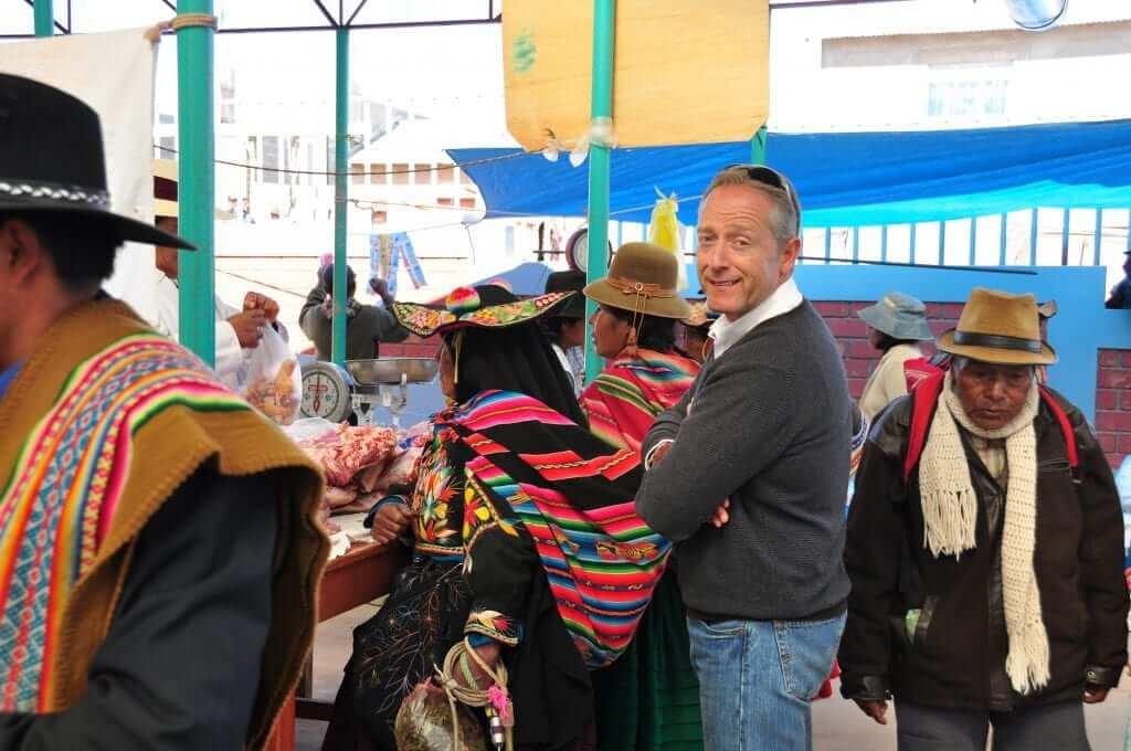 Lago Titicaca mercado de Capachica