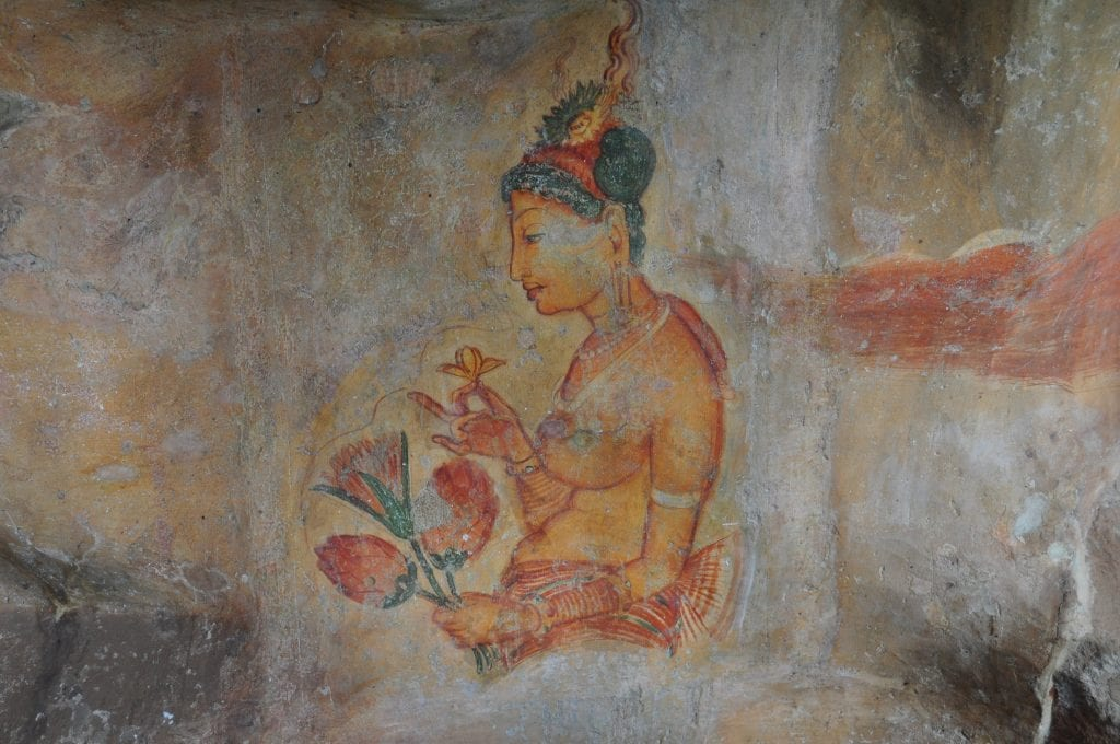 Las Damas de Sigiriya