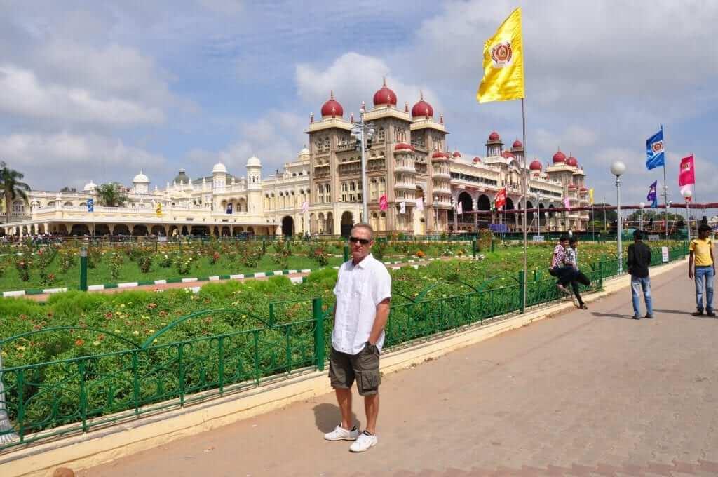 Mysore Palacio de la ciudad