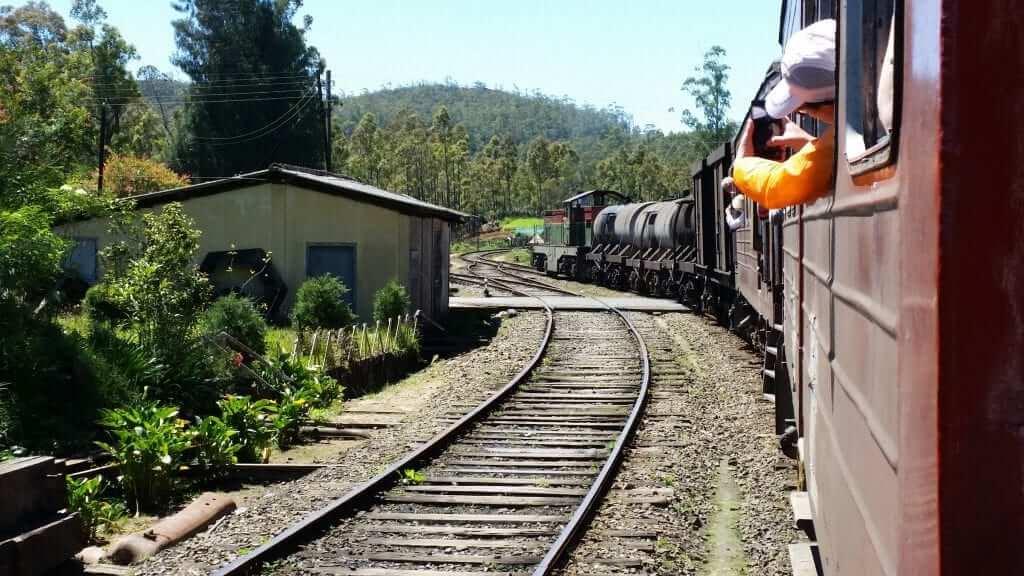 Viaje en tren Sri Lanka