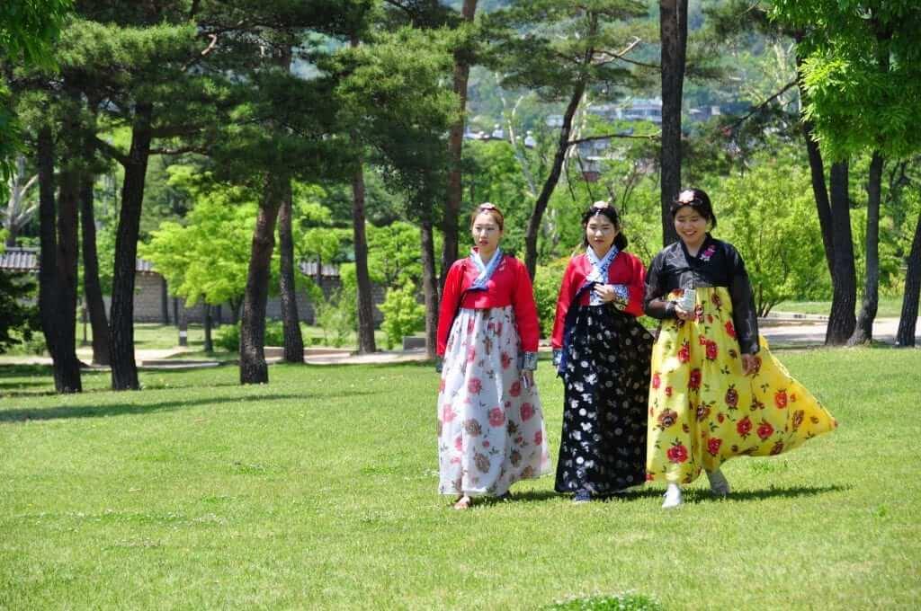 hanbok coreano