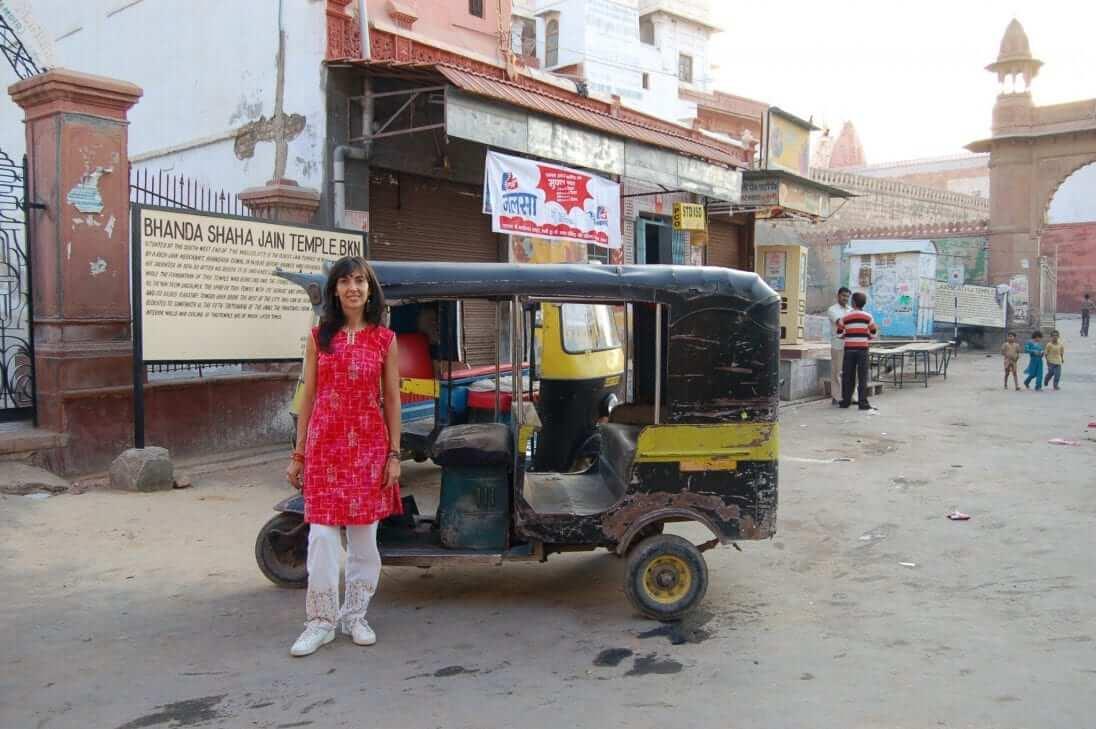 Viajar sola a India